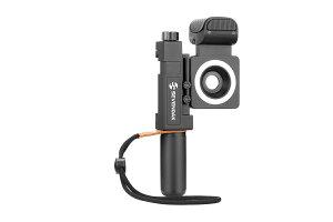 SEVENOAKSK-SmartCineスマートフォンビデオキット魚眼レンズ/広角レンズLEDリングライトYouTube/ビデオ撮影用iPhoneとAndroidスマート