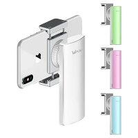 Wewow/ウィワオFancy手持ち式ジンバルポータブルスタビライザスマートフォン用充電式手振れ防止8時間運転垂直&水平撮影シルバーFancy(Silver)