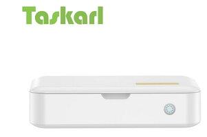TaskarlUV殺菌ボックス99%ウイルス消滅UV除菌器殺菌滅菌ボックスマスクスマホメガネ時計などウイルス除去【日本語説明書】