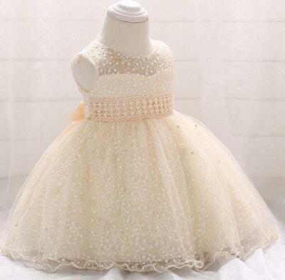 ベビーカレンチュールスカートドレス