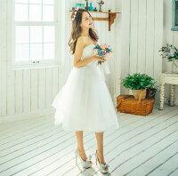 【新作ドレス】花柄パーティー結婚式謝恩会お呼ばれドレスパーティードレス結婚式ドレスワンピースドレスワンピースべアトップラインドレスドレスワンピースパーティドレスべアトップワンピー花柄