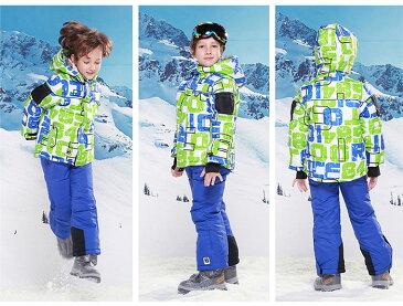 【防寒抜群】子供服 キッズ服 スキーウエア キッズ 上下セット スノーボードウェア  スキー服 雪遊び 【子供 キッズ 冬用 アウター スノーウェア 女の子 男の子】 防寒/雪遊び/ 110CM 120CM 130CM 140CM 150CM