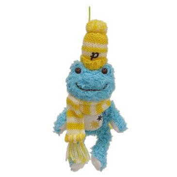 【pickles the frog】 かえるのピクルス☆winterシリーズ ストラップブルー☆カエルのピクルス winter ストラップブルー【楽ギフ_包装】【無料_ラッピング】【5400円以上で送料無料】§§ セレクト雑貨のお店 かえるグッズ ぬいぐるみ ココヒコ