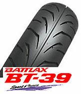 【バイク用フロントタイヤ】BRIDGESTONE BT-39 100/90-16 54H TLブリヂストン・BT39・フロ...