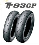 DUNLOP TT93FGP 100/90-12 49J TL コンパウンド:ソフトダンロップ・TT93GP・フロント用(ミニバイクレース用フロントタイヤ)商品コード:294797