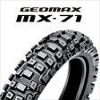 DUNLOP GEOMAX MX71A 110/90-19 62M WTダンロップ・MX71・リア用競技専用レーシングタイヤ・ハード路商品番号304411※公道走行不可