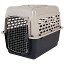 ペットメイト バリケンネル 30-50lbs (13.5-22.7kg) 犬用 トープ/ブラック【送料無料】
