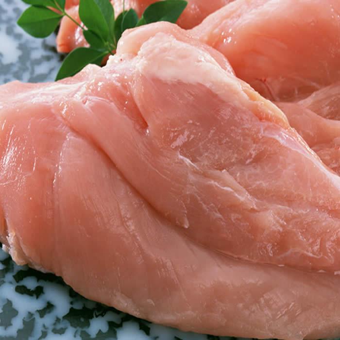鹿児島産、宮崎産鶏ムネ1kg袋鶏むね肉 唐揚げ ...の商品画像
