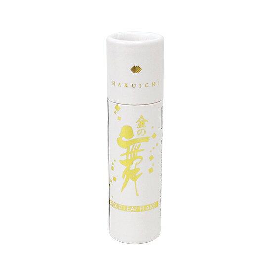 TOMIZ cuoca(富澤商店・クオカ)食用金箔金の舞 紙筒 / 0.05g トッピング材料 金箔・銀箔