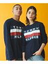[Rakuten Fashion]【オンライン限定】ビッグ フラッグ Tシャツ / UPSTATE FLAG LS TEE TOMMY HILFIGER トミーヒルフィガー カットソー Tシャツ ネイビー ホワイト【RBA_E】【送料無料】・・・