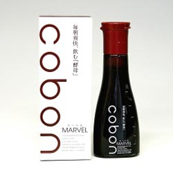 フルーツを自然発酵させた天然酵母飲料コーボンマーベルN 140ml