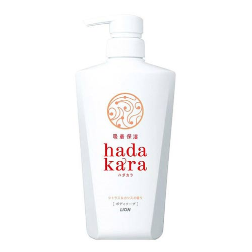 hadakara ボディソープ シトラス&カシスの香り 本体 500ml画像