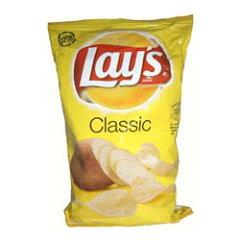 塩味が効いたアメリカのポテトチップスレイズ クラシック 塩味 184.2g