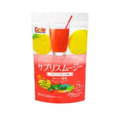 暴食等の生活習慣が気になる方ドール サプリスムージー グレープフルーツ 210g(約21杯分)