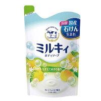 ミルキィボディソープもぎたてゆずの香りつめかえ用(400ml)