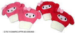 マイメロディキャラクターミトン手袋防寒用(あったかぽかぽかかわいいキャラクターおすすめ)