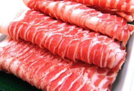 豚肉, バラ・カルビ 1000g(1kgOK()