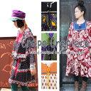 【yul】クレープ素材のハデプリワンピース!! アジアン/エスニック/ファッション小物アジアン雑貨 /アジアンファッション その1