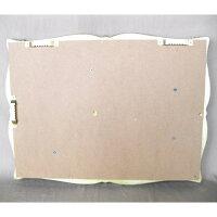 【数量限定】トレイ型ホルダーアンティーク調シルバー色カントリーテイスト壁掛けアクセサリホルダーキーホルダーギフト