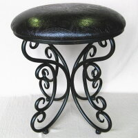 【送料無料】アンティーク調アイアン製スツール(椅子)【YDKG】【RCP】鉄