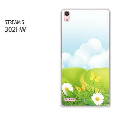 ゆうパケ送料無料【Y!mobile STREAM S 302HWケース】[302hw ケース][ケース/カバー/CASE/ケ−ス][アクセサリー/スマホケース/スマートフォン用カバー]【フラワー209/302hw-PM209】