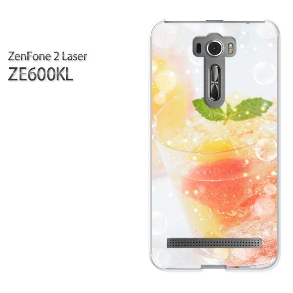 ゆうパケ送料無料!【ASUS ZenFone2 Laser ZE600KLケース】ze600kl ケース カバー CASE ゼンフォン zenfoneアクセサリー スマホケース スマートフォン用カバー [ゼリー・スイーツ(赤)/ze600kl-pc-ne246]