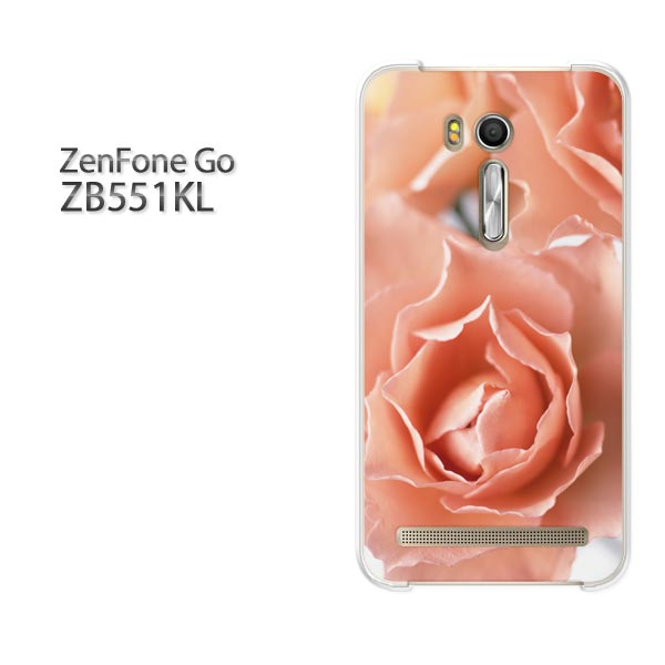 ゆうパケ送料無料 ZenfoneGO ZB551KLzb551kl ゼンフォン zenfone go ASUSクリア 透明 ハードケース ハードカバーアクセサリー スマホケース スマートフォン用カバー[花・バラ(ピンク)/zb551kl-pc-new0341]