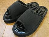 靖肯簡單的黑色涼鞋/男裝[シンプル健康サンダル ブラック/メンズ]