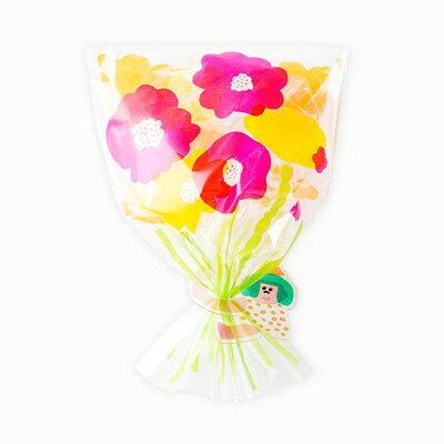 もったいなくて使えない…AIUEOの花束みたいなラッピング袋