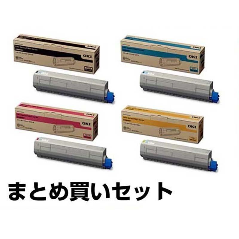 沖データ OKI TNR-C3LK2/C1/M1/Y1トナーカートリッジ 4色/ブラック黒大容量/シアン/マゼンタ/イエロー 純正 C811dn、C811dn-T、C841dn、MC863dnw、MC863dnwv、MC883dnw、MC883dnwv、MC843dnw、MC843dnwv 用トナー