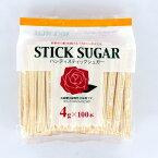 大日本明治製糖 ばら印 ハンディスティックシュガー 4g×100P