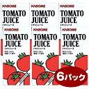 出荷までお時間を頂いております送料無料 カゴメ 業務用 トマトジュース (1Lx6本) 【セット割引】