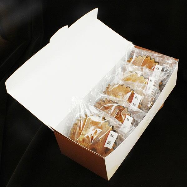 【ギフト箱入】珈琲問屋紅茶マドレーヌ・ラウンド(5個セット)【セット割引】