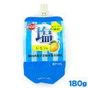 賞味期限2022/01/15 セイウ 熱中ゼリー 塩レモン味 180g 1個