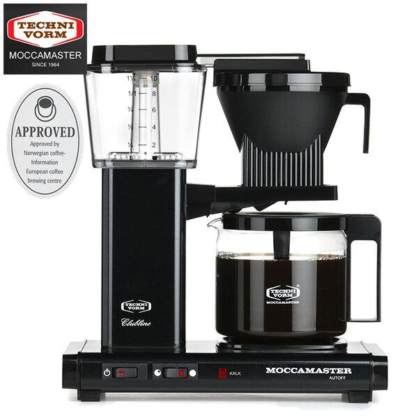 モカマスター コーヒーメーカー (マットブラック) MM741AO-MB 取寄品/日付指定不可