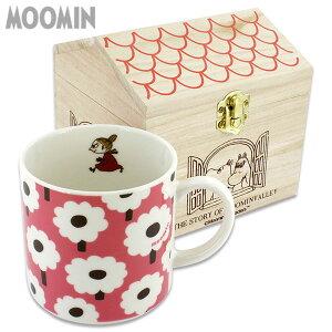 MOOMIN Collectionムーミンコレクション 木箱入りマグカップ (プチフラワー ミィ)MM732-11H