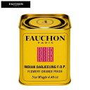 FAUCHON フォション ダージリン 125g 紅茶 リーフティー (缶入り)