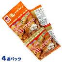 野村煎豆 まじめなおかし 真夜中のミレービスケット にんにく味 4連パック(30g×4袋) 1