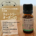ティトリー (オーガニック)10ml ティートリーオイル アロマ アロマオイル エッセンシャルオイル 精油 【...