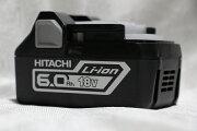 日立工機[HITACHIKOKI]18V(6.0Ah)リチウムイオンバッテリBSL1860