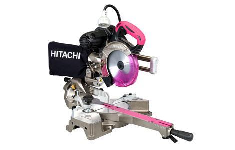 日立工機[HITACHI KOKI]レーザー付き卓上スライド丸のこ 165mm C6RSHC