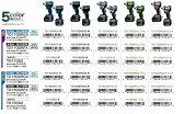 マキタ 18V 充電式 インパクトドライバ 本体のみ バラシ品 箱なし(バッテリ・充電器・ケース別売)TD170DZ(青)/TD170DZB(黒)/TD170DZW(白)/TD170DZL(ライム)/TD170DZP(ピンク)