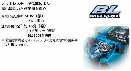 マキタ 充電式集じん機  VC750DZ 本体のみ