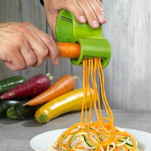 ¨【グリーン入荷待ち】野菜が麺に! Microplane マイクロプレイン スパイラルカッター ベジ麺【RCP】