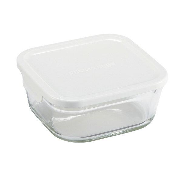 iwaki イワキ 保存容器パック&レンジ BOX M (小) 深型 ホワイト KN3247H-W パックアンドレンジ 耐熱ガラス 常備菜 つくおき 作り置き 【キッチン おしゃれ インスタ映え 人気 ギフト プレゼントとして】