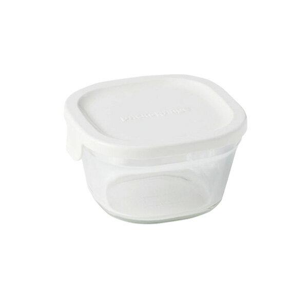 iwaki イワキ 保存容器 パック&レンジ SS(プチ)ホワイト N3200-W パックアンドレンジ 耐熱ガラス 常備菜 つくおき 作り置き 【キッチン おしゃれ インスタ映え 人気 ギフト プレゼントとして】