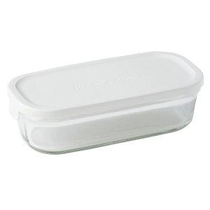 ∞¨iwaki イワキパック&レンジ BOX ハーフ ホワイト N3246-W【RCP】