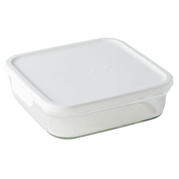 iwaki イワキ 保存容器 パック&レンジ BOX L (大) ホワイト N3248-W パックアンドレンジ 耐熱ガラス 常備菜 つくおき 作り置き 【キッチン おしゃれ インスタ映え 人気 ギフト プレゼントとして】