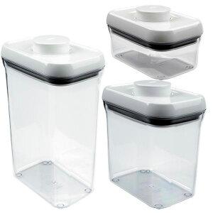 オクソー コンテナ レクタングル プラスチック ポイント