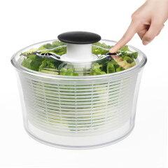 OXOオクソー クリアサラダスピナー 小 1351680(Salad Spinner)【店内最大P10倍&すぐ使える最大1,000円ラクーポン】【RCP】